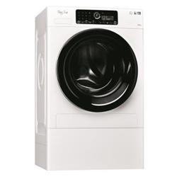 Lave-linge Whirlpool FSCR12443 - Machine à laver - pose libre - largeur : 59.5 cm - profondeur : 70 cm - hauteur : 100 cm - chargement frontal - 12 kg - 1400 tours/min - blanc