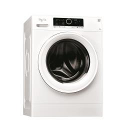 Lave-linge Whirlpool Supreme Care FSCR80215 - Machine à laver - pose libre - largeur : 59.5 cm - profondeur : 61 cm - hauteur : 85 cm - chargement frontal - 55 litres - 8 kg - 1200 tours/min - blanc
