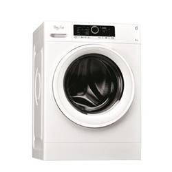 Lave-linge Whirlpool FSCR 80216 - Machine à laver - pose libre - largeur : 59.5 cm - profondeur : 61 cm - hauteur : 85 cm - chargement frontal - 55 litres - 8 kg - 1200 tours/min - blanc