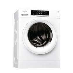 Lave-linge Whirlpool FSCR 90412 - Machine à laver - pose libre - largeur : 59.5 cm - profondeur : 61 cm - hauteur : 85 cm - chargement frontal - 55 li