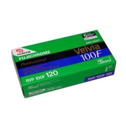 Fujifilm Fujichrome Velvia 100F Professional [RVP100F] - Pellicule diapositive couleur - 120 (6 cm) - ISO 100 - 5 rouleaux
