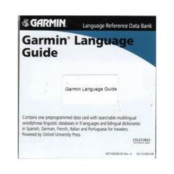 Accessorio Garmin - Dizionario