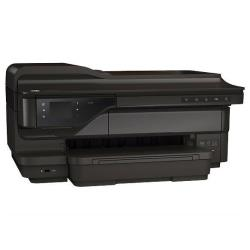 Imprimante  jet d'encre multifonction HP Officejet 7612 Wide Format e-All-in-One - Imprimante multifonctions - couleur - jet d'encre - A3/Ledger (297 x 432 mm) (original) - 330.2 x 1117.6 mm (support) - jusqu'à 33 ppm (copie) - jusqu'à 33 ppm (impression) - 250 feuilles - 33.6 Kbits/s - USB 2.0, LAN, Wi-Fi(n), hôte USB