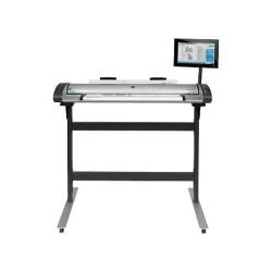 Scanner HP Designjet SD Pro Scanner - Scanner à rouleau - Rouleau (111,8 cm) - 1200 ppp x 1200 ppp - USB 3.0, Gigabit LAN - pour DesignJet T1530, T930, Z2600 PostScript