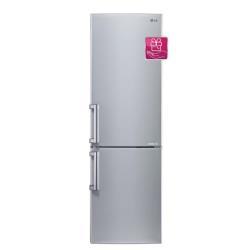 Réfrigérateur LG GBB539NSCFE - Réfrigérateur/congélateur - pose libre - largeur : 59.5 cm - profondeur : 68.6 cm - hauteur : 190 cm - congélateur bas - Classe A+++ - inox platiné