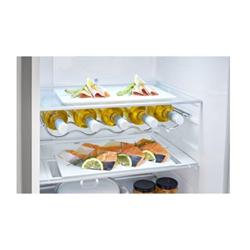 R�frig�rateur LG GBB59PZFZS - R�frig�rateur/cong�lateur - pose libre - largeur : 59.9 cm - profondeur : 66.5 cm - hauteur : 190 cm - 318 litres - cong�lateur bas - Classe A++ - argent platine