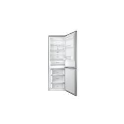 Réfrigérateur LG GBB59PZFZS - Réfrigérateur/congélateur - pose libre - largeur : 59.9 cm - profondeur : 66.5 cm - hauteur : 190 cm - 318 litres - congélateur bas - Classe A++ - argent platine
