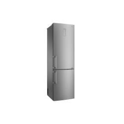 Réfrigérateur LG GBB60SAYXE - Réfrigérateur/congélateur - pose libre - largeur : 59.5 cm - profondeur : 68.6 cm - hauteur : 201 cm - 343 litres - congélateur bas - Classe A+++ -10% - Saffiano