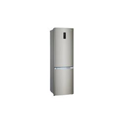 Réfrigérateur LG GBB930DNQZN - Réfrigérateur/congélateur - pose libre - largeur : 59.5 cm - profondeur : 66.8 cm - hauteur : 200 cm - 335 litres - congélateur bas - Classe A++ - noir miroir