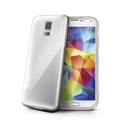 Cover Celly - GELSKIN390  per  Galaxy S5 Gel Trasparente