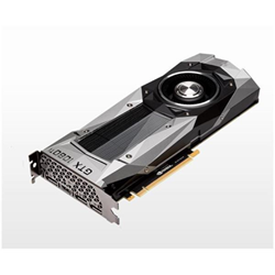 Carte vidéo PNY GeForce GTX 1080 Ti - Founders Edition - carte graphique - GF GTX 1080 Ti - 11 Go GDDR5X - PCIe 3.0 x16 - HDMI, 3 x DisplayPort