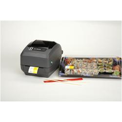 Imprimante thermique code barre Zebra G-Series GK420t - Imprimante d'étiquettes - DT / TT - Rouleau (10,8 cm) - 203 dpi - jusqu'à 127 mm/sec - USB, LAN