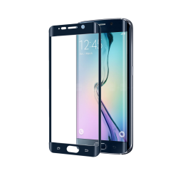 Protecteur d'écran CELLY GLASS515BK - Protection d'écran - pour Samsung Galaxy S6 edge+