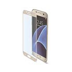 Protecteur d'écran CELLY GLASS590GD - Protection d'écran - or - pour Samsung Galaxy S7
