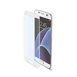 Protecteur d'écran CELLY GLASS590WH - Protection d'écran - blanc - pour Samsung Galaxy S7