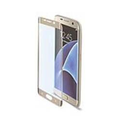 Protecteur d'écran CELLY GLASS591GD - Protection d'écran - or - pour Samsung Galaxy S7 edge