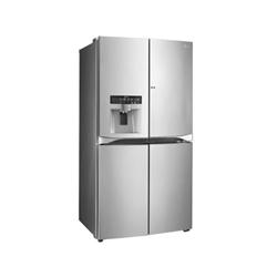 Réfrigérateur LG GMJ916NSHV - Réfrigérateur/congélateur - pose libre - largeur : 91.2 cm - profondeur : 75.8 cm - hauteur : 179.7 cm - 571 litres - Américain avec Distributeur d'eau et de glaçons - classe A+ - acier premium