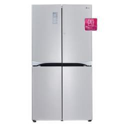 Réfrigérateur LG GMM916NSHV - Réfrigérateur/congélateur - pose libre - largeur : 91.2 cm - profondeur : 75.8 cm - hauteur : 179.7 cm - 601 litres - Américain - classe A+ - graphite inox