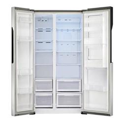 Réfrigérateur LG GS9366PZQZM - Réfrigérateur/congélateur - pose libre - largeur : 91.2 cm - profondeur : 71.2 cm - hauteur : 179 cm - 626 litres - Américain - Classe A++ - inox