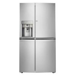 Réfrigérateur LG GSJ976NSBZ - Réfrigérateur/congélateur - pose libre - largeur : 91.2 cm - profondeur : 73.3 cm - hauteur : 178.5 cm - 596 litres - Américain avec Distributeur d'eau et de glaçons - Classe A++ - graphite inox