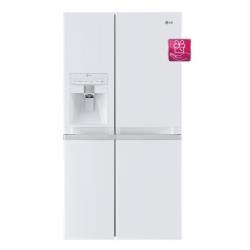 Réfrigérateur LG GSL545SWYV - Réfrigérateur/congélateur - pose libre - largeur : 89.4 cm - profondeur : 72.3 cm - hauteur : 175.6 cm - 538 litres - Américain avec Distributeur d'eau et de glaçons - classe A+ - blanc perle