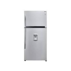 Réfrigérateur LG GTF744NSPM - Réfrigérateur/congélateur - pose libre - largeur : 78 cm - profondeur : 73 cm - hauteur : 180 cm - 511 litres - congélateur haut avec distributeur d'eau - Classe A++ - acier graphité