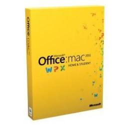 Software Microsoft - Office Home and Student 2011 Mac