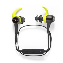 NuForce BE Sport3 - Écouteurs avec micro - intra-auriculaire - sans fil - Bluetooth - bronze