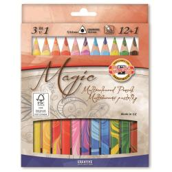 Crayon KOH-I-NOOR MAGIC - Crayon de couleur - pack de 12