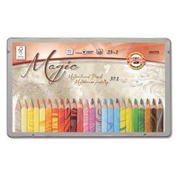 Crayon KOH-I-NOOR MAGIC - Crayon de couleur - pack de 24