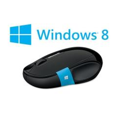 Souris Microsoft Sculpt Comfort Mouse - Souris - optique - 3 boutons - sans fil - Bluetooth - noir