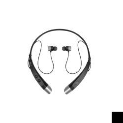 LG TONE+ HBS-500 - �couteurs avec micro - intra-auriculaire - montage derri�re le cou - sans fil - Bluetooth - noir