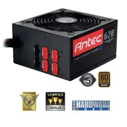 Alimentation PC Antec High Current Gamer HCG-620M - Alimentation (interne) - ATX12V 2.32/ EPS12V 2.92 - 80 PLUS Bronze - CA 100-240 V - 620 Watt - PFC active - Europe