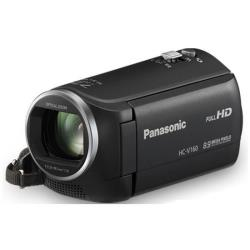 Caméscope Panasonic HC-V160 - Caméscope - 1080p - 2.51 MP - 38x zoom optique - carte Flash - noir