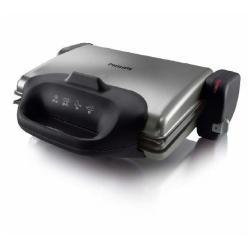 Gril Philips HD4467 - Gril -électrique - 1422.7 cm ² - inox/noir
