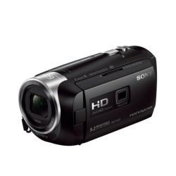 Caméscope Sony Handycam HDR-PJ410 - Caméscope avec projecteur - 1080p - 2.51 MP - 30x zoom optique - Carl Zeiss - carte Flash - Wi-Fi, NFC - noir