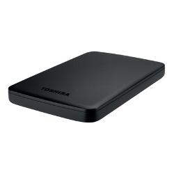 """Disque dur externe Toshiba Canvio Basics - Disque dur - 2 To - externe (portable) - 2.5"""" - USB 3.0 - noir"""