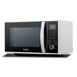 Micro ondes Haier HGN-2390HEMG - Four micro-ondes grill - pose libre - 23 litres - 900 Watt - blanc