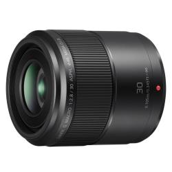 Objectif Panasonic Lumix H-HS030E - Macro-objectif - 30 mm - f/2.8 G ASPH. - Micro Four Thirds - pour Lumix G DC-GH5, GH5L, GH5M, GX800, GX850, DMC-G70, G7M, G8, G80, G81, G85, G8M, GF1C, GX85