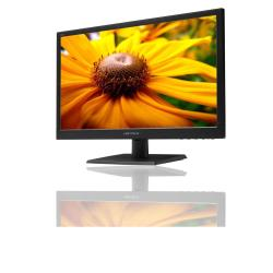 """Écran LED HANNS.G HL205DPB - Écran LED - 19.5"""" - 1600 x 900 - 250 cd/m² - 1000:1 - 5 ms - DVI, VGA - haut-parleurs - texture noire"""