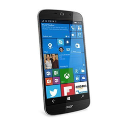 """Smartphone Acer Liquid Jade Primo - Smartphone - double SIM - 4G LTE - 32 Go - microSDHC slot - GSM - 5.5"""" - 1 920 x 1 080 pixels - AMOLED - 21 MP (caméra avant de 8 mégapixels) - Windows 10 - avec Acer Docking Station"""