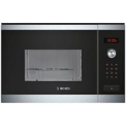 Micro-ondes encastrable Bosch HMT84G654 - Four micro-ondes grill - intégrable - 25 litres - 900 Watt - inox