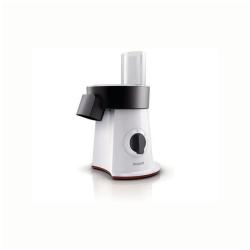 Philips Viva Collection SaladMaker HR1387 - Robot multi-fonctions - 200 Watt - blanc/noir/rouge étoile