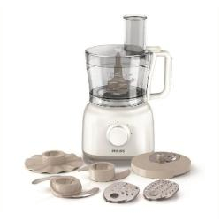 Robot de cuisine Philips Daily Collection HR7627 - Robot multi-fonctions - 5 tasse - 650 Watt