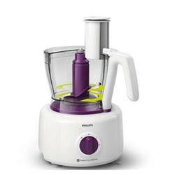 Robot de cuisine Philips Viva Collection HR7751 - Robot multi-fonctions - 1000 Watt - blanc / violet profond