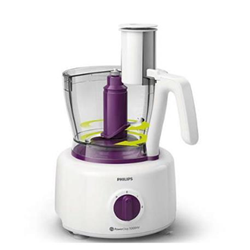 Robot de cuisine Philips Viva Collection HR7751 - Robot multi-fonctions - 1000 Watt - white/viva purple