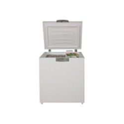Congélateur Beko HS 221520 - Congélateur - pose libre - largeur : 75 cm - profondeur : 72.5 cm - hauteur : 90.5 cm - 205 litres - congélateur coffre - classe A+ - blanc