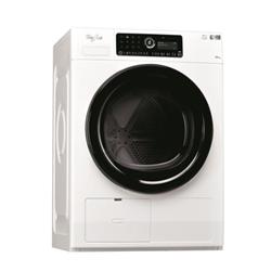 Sèche-linge Whirlpool Supreme Care HSCX 10441 - Sèche-linge - pose libre - largeur : 59.6 cm - profondeur : 65.9 cm - hauteur : 85.5 cm - chargement frontal - blanc