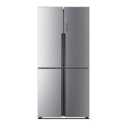 Réfrigérateur Haier HTF-456DM6 - Réfrigérateur/congélateur - pose libre - largeur : 83.3 cm - profondeur : 66.6 cm - hauteur : 180.4 cm - 456 litres - Américain - classe A+ - finition inox
