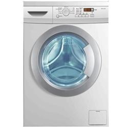 Lave-linge Haier HW70-1211N - Machine à laver - pose libre - largeur : 59.5 cm - profondeur : 51 cm - hauteur : 85 cm - chargement frontal - 7 kg